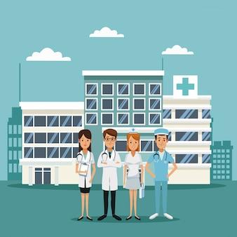 Ospedali con medici specialisti del personale