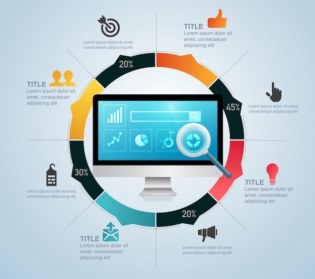 Ottimizzazione dei motori di ricerca infografica