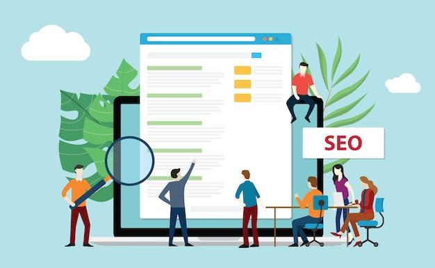 Ottimizzazione del motore di ricerca seo