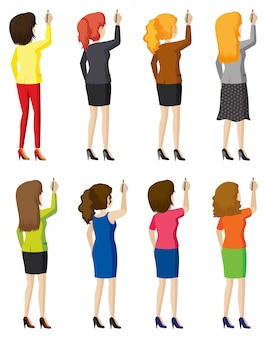 Otto donne che scrivono