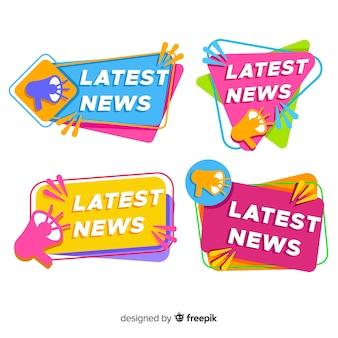 Pacchetto banner colorato più recente