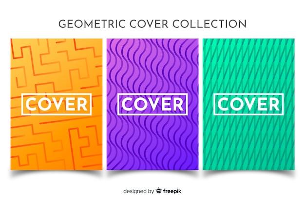 Pacchetto brochure linee geometriche