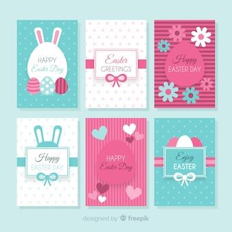 Pacchetto di carte pasqua piatte