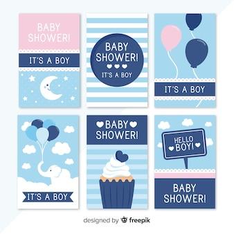 Pacchetto di carte per baby shower