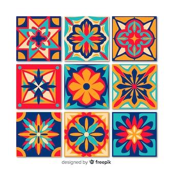 Pacchetto di piastrelle decorative