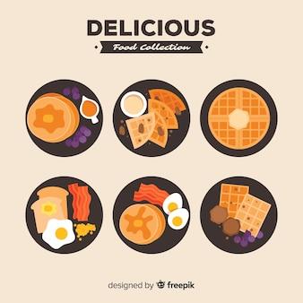 Pacchetto di piatti deliziosi