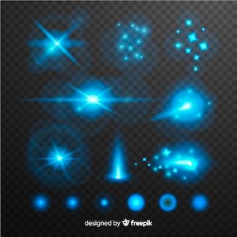Pacchetto effetti luminosi tecnologia