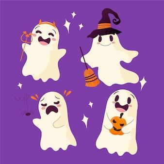 Pacchetto fantasma di halloween