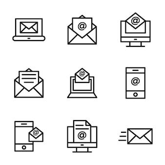 Pacchetto linea e-mail aziendali