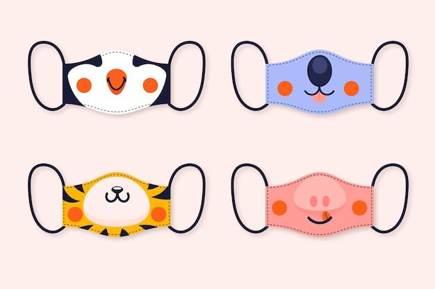 Pacchetto maschera per animali
