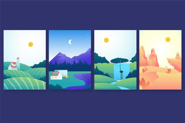 Pacchetto paesaggio diverso