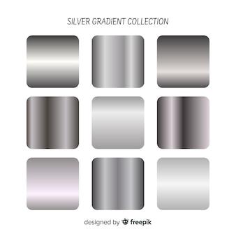Pacchetto sfumato d'argento