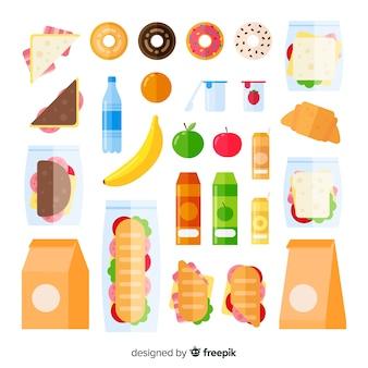 Pacchetto snack non salutare