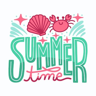 Pack di badge estivi