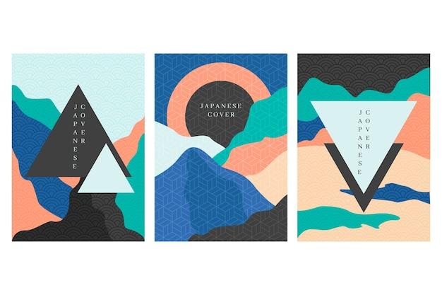 Pack di copertina giapponese minimalista