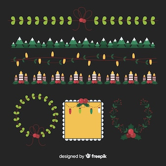 Pack di cornici e cornici natalizie