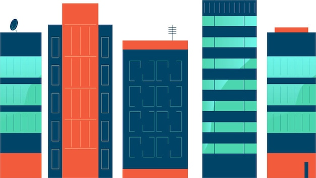 Pack di edifici