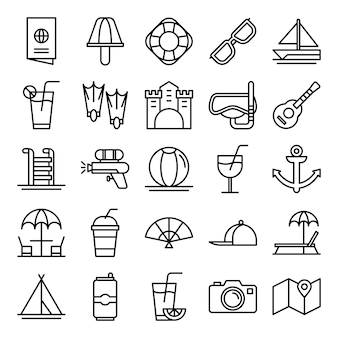 Pack di icone estive