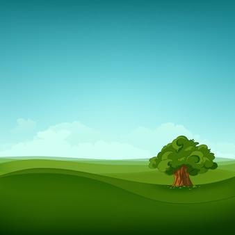 Paesaggio del campo