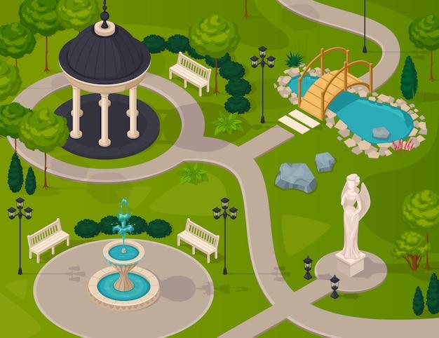 Paesaggio del parco