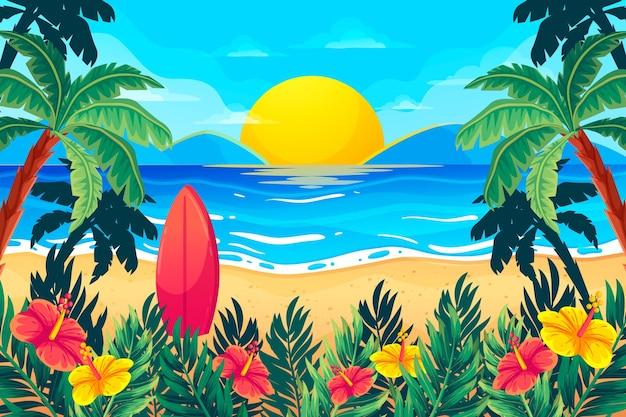 Paesaggio estivo