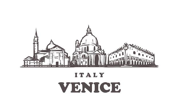 Paesaggio urbano di venezia, italia