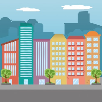 Paesaggio urbano urbano
