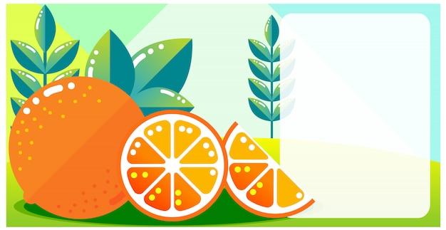 Pagina colorata sfondo arancione