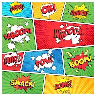 Pagina dei fumetti