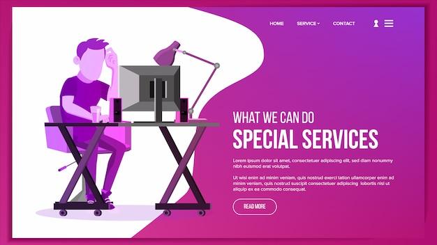 Pagina del sito web