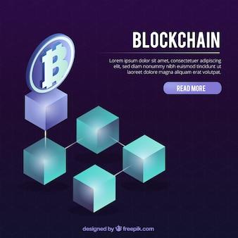 Pagina di destinazione blockchain