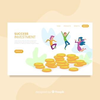 Pagina di destinazione del denaro