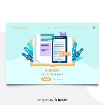 Pagina di destinazione dell'e-book