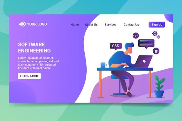 Pagina di destinazione dell'ingegneria del software