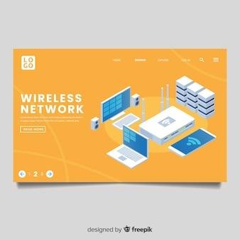 Pagina di destinazione della rete wireless