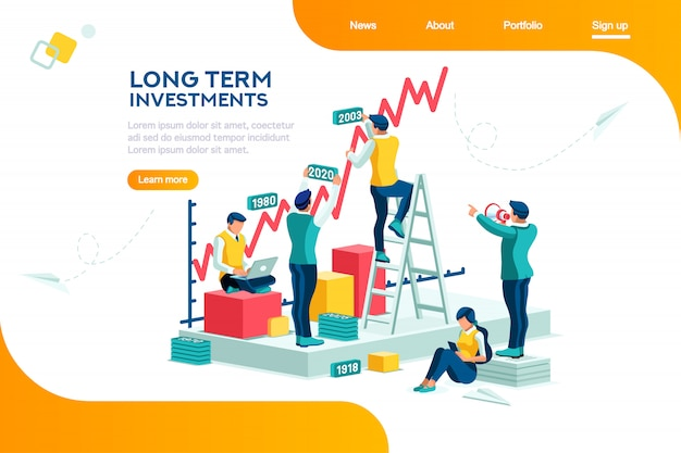 Pagina di destinazione gestione aziendale
