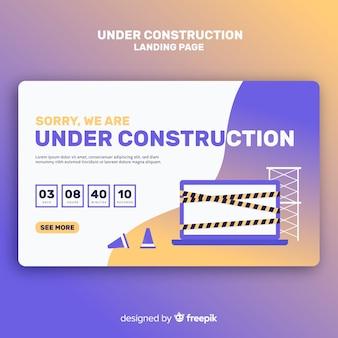 Pagina di destinazione in costruzione