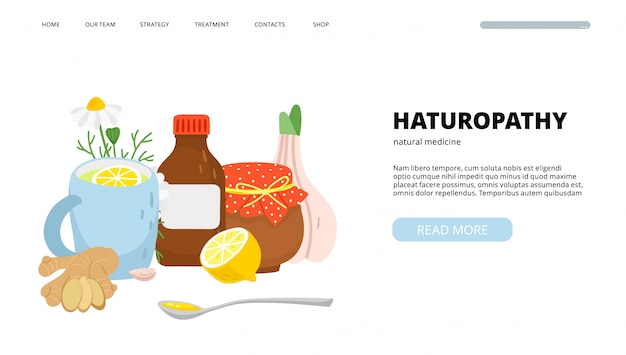 Pagina di destinazione naturopatia