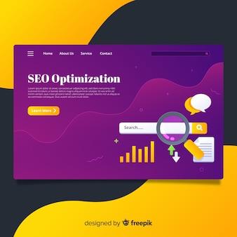 Pagina di destinazione ottimizzazione seo