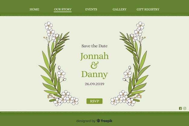 Pagina di destinazione per matrimoni