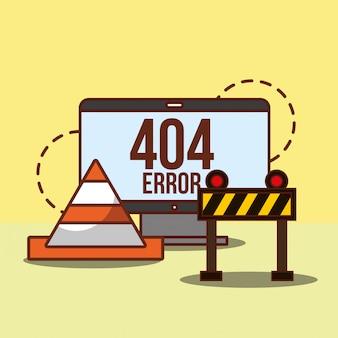 Pagina di errore 404 non trovata