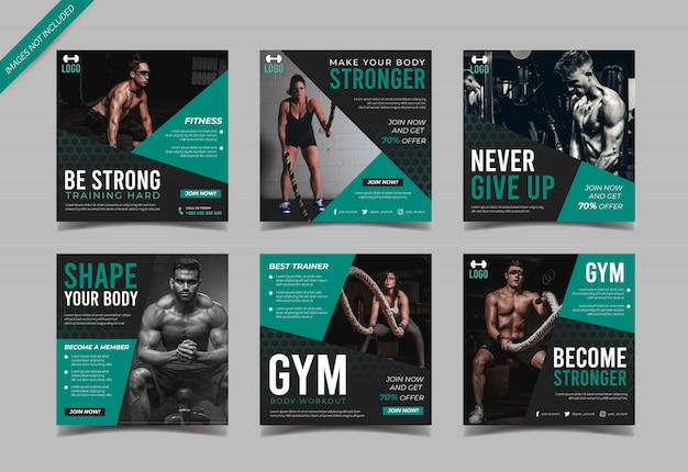 Palestra instagram post collection template