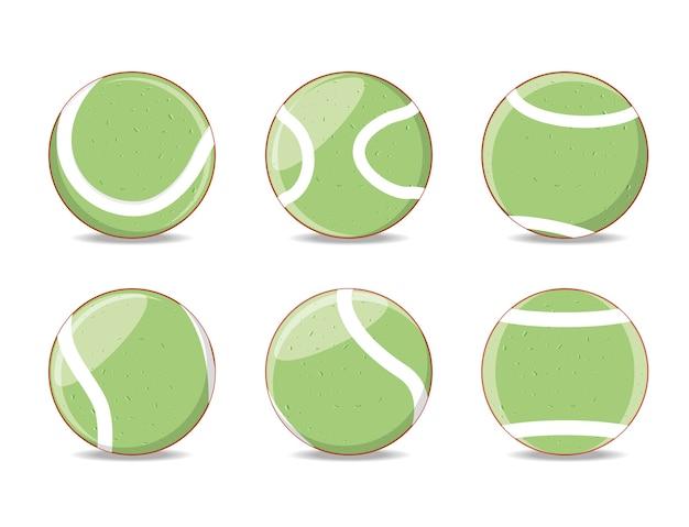 Palle per giocare a tennis