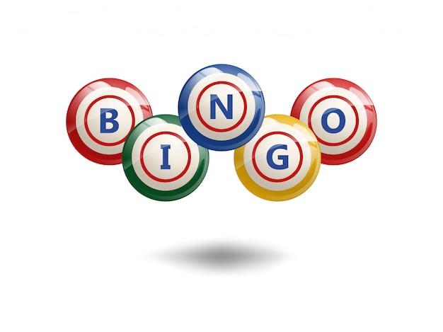 Palline di bingo volanti