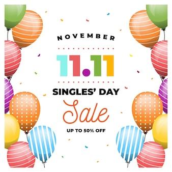 Palloncini colorati single day concept