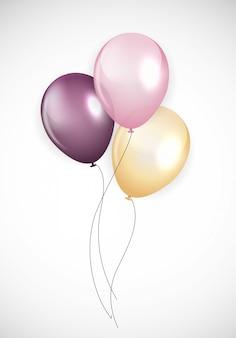 Palloncini lucido buon compleanno