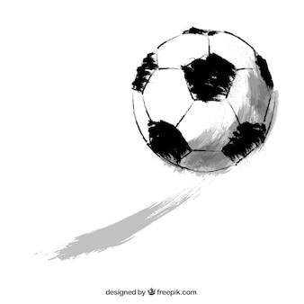 Pallone da calcio sketchy