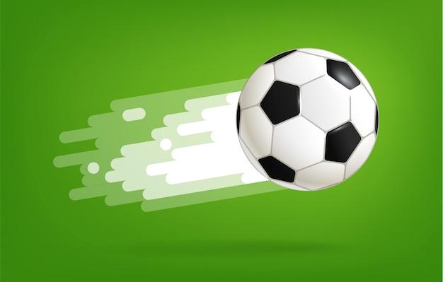 Pallone da calcio volante