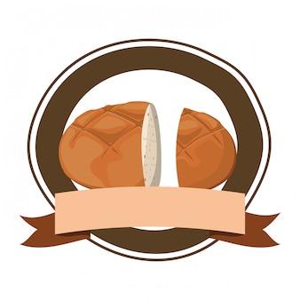 Pane bagel fresco e delizioso