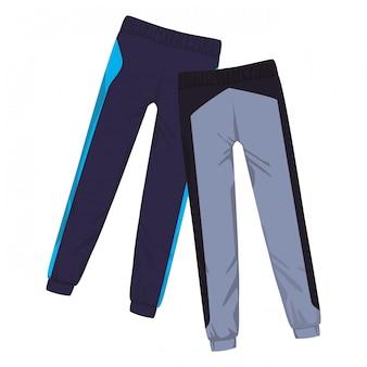 Pantaloni fitness maschili